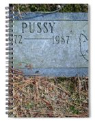 Pussy Spiral Notebook