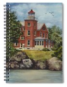 Put-in-bay Lighthouse Spiral Notebook