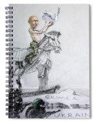 Putin's Surprising Crimea Visit Spiral Notebook