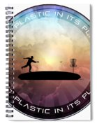 Putt Plastic In Its Place Spiral Notebook