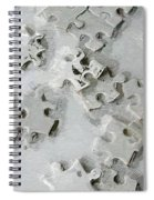 Putting Puzzle Pieces Together Spiral Notebook