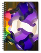 Puzzle Lamp Spiral Notebook