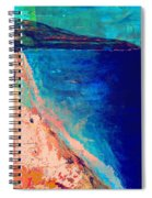 Pv Abstract Spiral Notebook