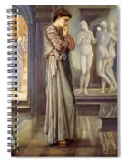 Pygmalion And The Image - The Heart Desires Spiral Notebook