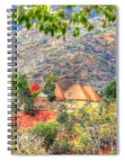 Pyramid Houses In Fall Spiral Notebook