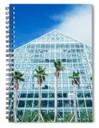 Pyramid, Moody Gardens, Galveston Spiral Notebook