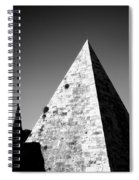Pyramid Of Cestius Spiral Notebook