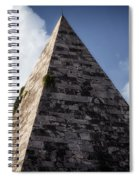 Pyramid Of Rome Spiral Notebook