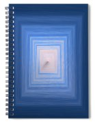 Pyramid Of The Sea Spiral Notebook