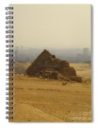 Pyramids Of Giza 12 Spiral Notebook