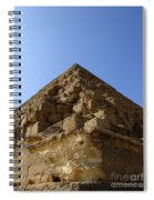 Pyramids Of Giza 20 Spiral Notebook