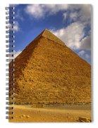 Pyramids Of Giza 28 Spiral Notebook