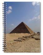 Pyramids Of Giza 30 Spiral Notebook