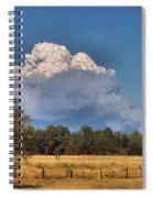 Pyrocumulus Cloud 08 18 12 Spiral Notebook
