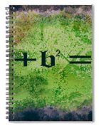 Pythagorean Theorem Spiral Notebook