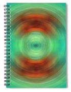Qi - Energy Art By Sharon Cummings Spiral Notebook