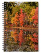Quabbin Reservoir Fall Foliage Spiral Notebook