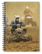 Quad Race Spiral Notebook