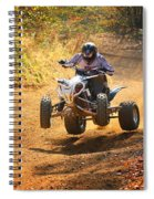 Quad Rider  Spiral Notebook