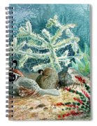 Quail At Rest Spiral Notebook