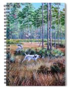 Quail Hunting...a Southern Tradition. Spiral Notebook