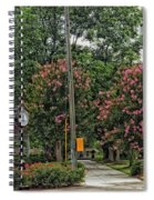 Quaint Park In Demopolis Alabama Spiral Notebook