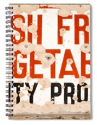 Quality Produce Spiral Notebook