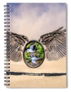 Quantum Escape Module Spiral Notebook