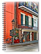 Quarter Time Painted 3 Spiral Notebook