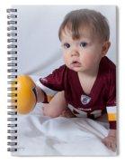 Quarterback Spiral Notebook