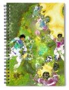Quarterback Dance Spiral Notebook