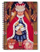 Queen Alice, 2008 Oil And Tempera On Panel Spiral Notebook