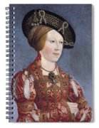 Queen Anne Of Hungary And Bohemia Spiral Notebook