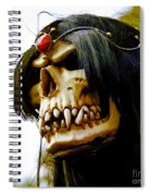 10007 Queen Astra Of Arkonia Spiral Notebook