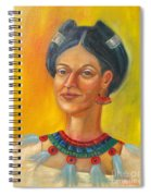 Queen Centehua Spiral Notebook