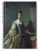 Queen Charlotte (1744-1818) Spiral Notebook