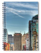 Queen City Downtown Spiral Notebook