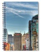 Queen City Downtown Spiral Notebook