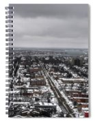 Queen City Winter Wonderland After The Storm Series 0010 Spiral Notebook