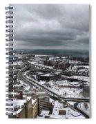Queen City Winter Wonderland After The Storm Series 0011 Spiral Notebook