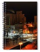 Queen City Winter Wonderland After The Storm Series 0015 Spiral Notebook