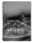 Queen City Winter Wonderland After The Storm Series 0019 Spiral Notebook