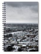 Queen City Winter Wonderland After The Storm Series 002 Spiral Notebook