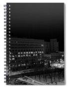 Queen City Winter Wonderland After The Storm Series 0020a Spiral Notebook