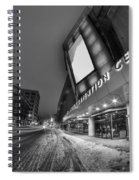 Queen City Winter Wonderland After The Storm Series 0023a Spiral Notebook
