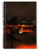Queen City Winter Wonderland After The Storm Series 0024 Spiral Notebook