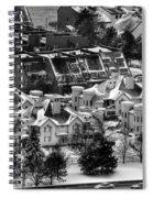 Queen City Winter Wonderland After The Storm Series 0028a Spiral Notebook