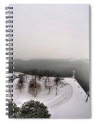 Queen City Winter Wonderland After The Storm Series 0034 Spiral Notebook