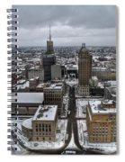 Queen City Winter Wonderland After The Storm Series 004 Spiral Notebook