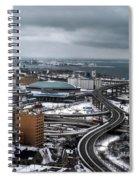Queen City Winter Wonderland After The Storm Series 006 Spiral Notebook